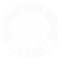 Agc white outline logo