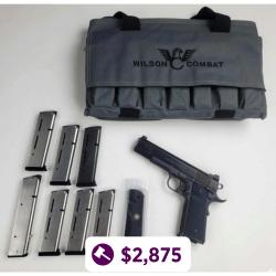 Wilson Combat Tactical Supergrade .45 ACP Pistol