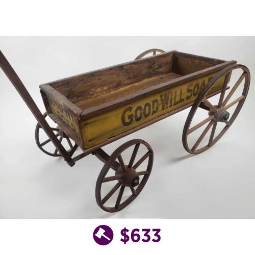 Child's Good Will Soap Wagon