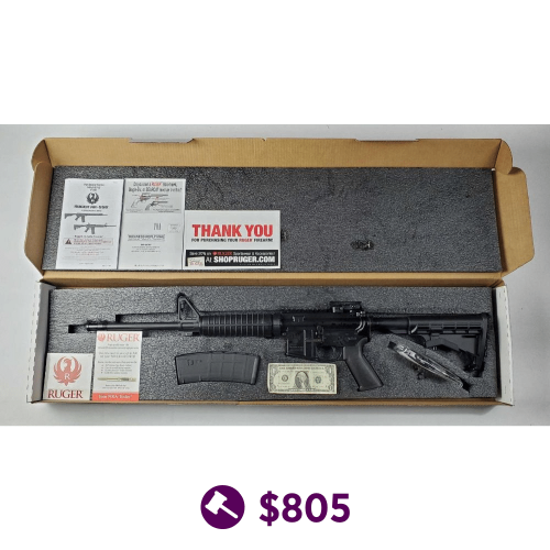New Ruger AR556 5.56x45mm Rifle