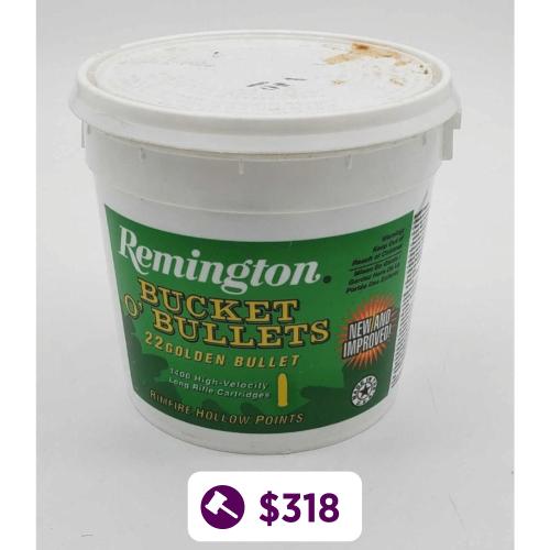 Remington Bucket O' Bullets 22LR