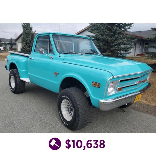 1968 Chevrolet 1500 C/K Pickup Truck