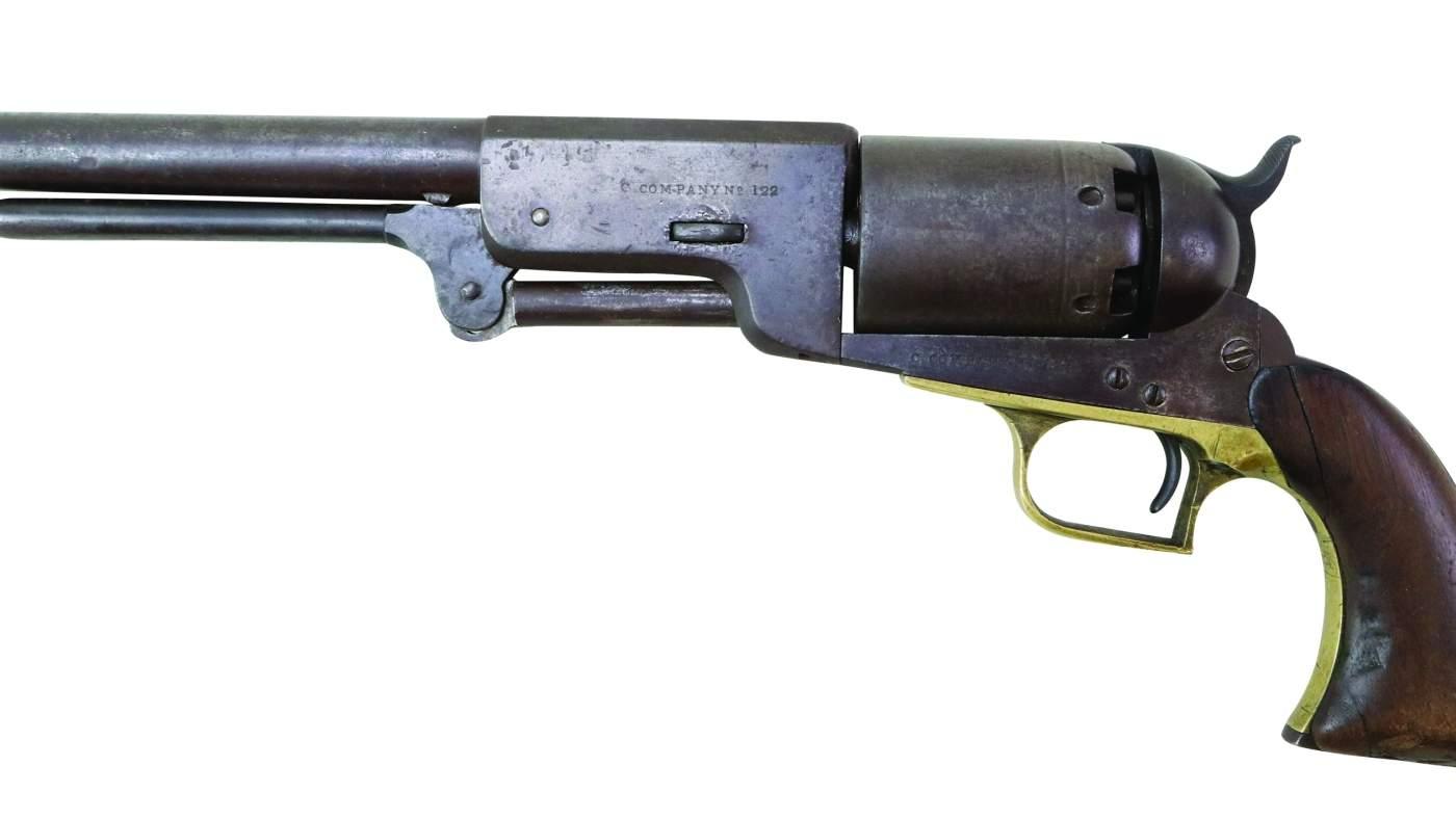U.S. Model 1847 Colt Walker Revolver C-Company No. 122
