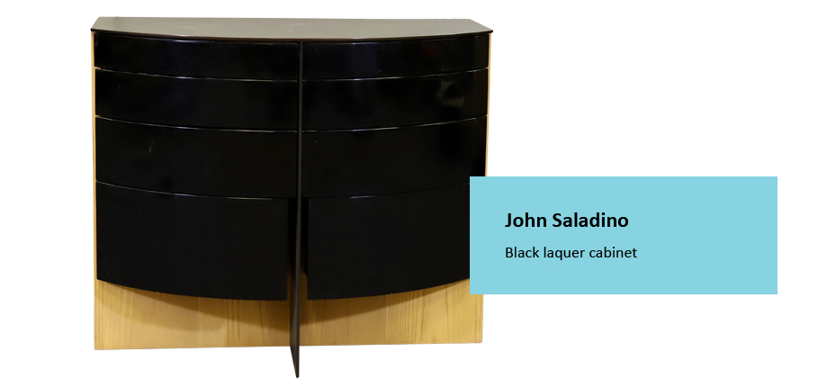 Alderfer Auction mid-century modern furniture John Saladino