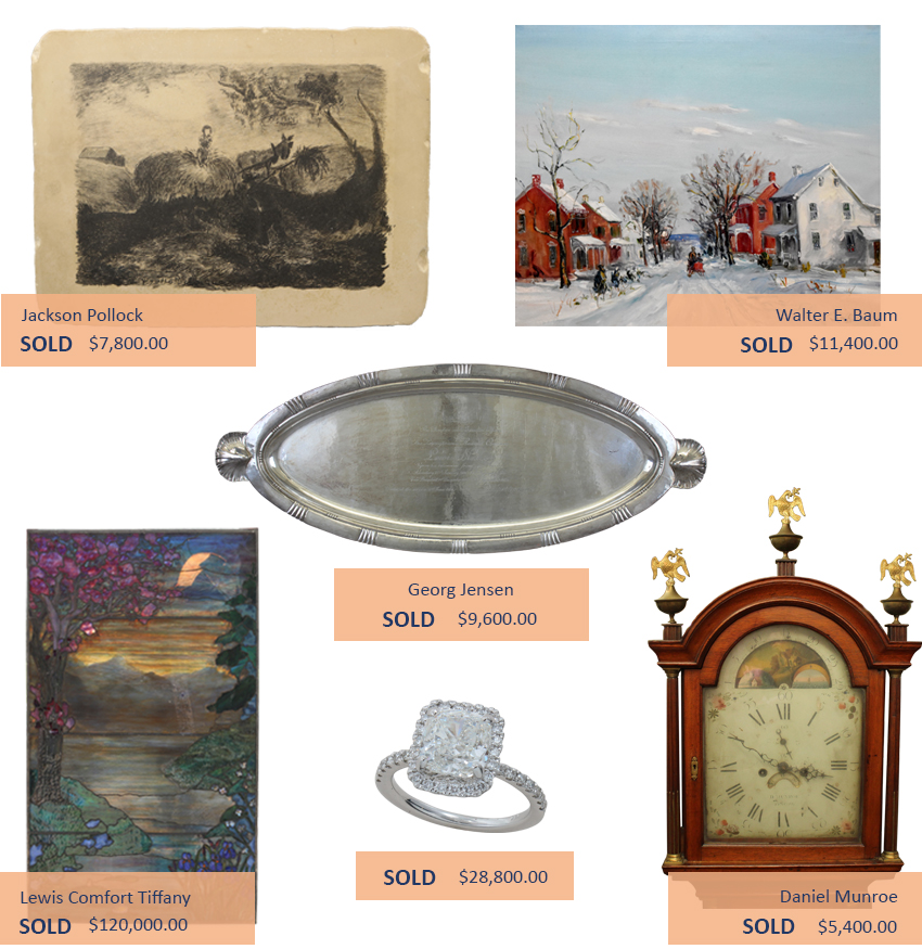 Alderfer Auction fine and decorative arts highlights two