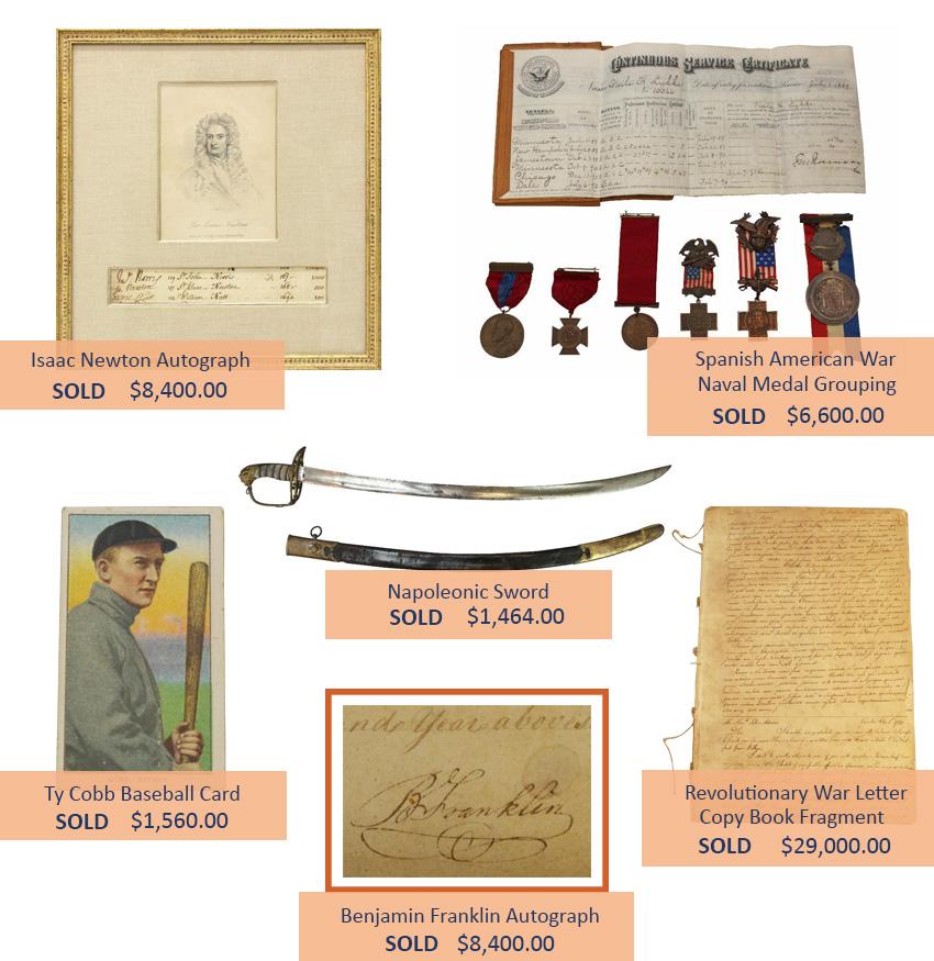 Alderfer Auction historical highlights