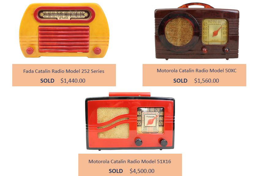 Alderfer Auction vintage radio highlights