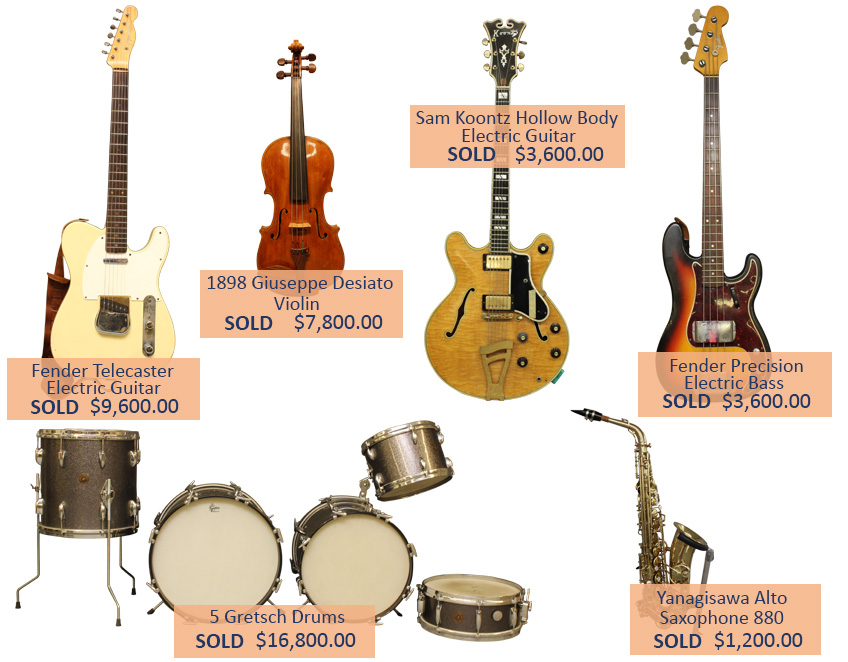 Alderfer Auction - Musical Instruments