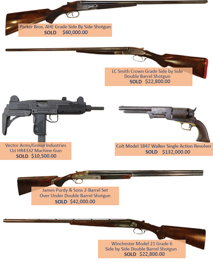 Alderfer Auction firearms highlights two