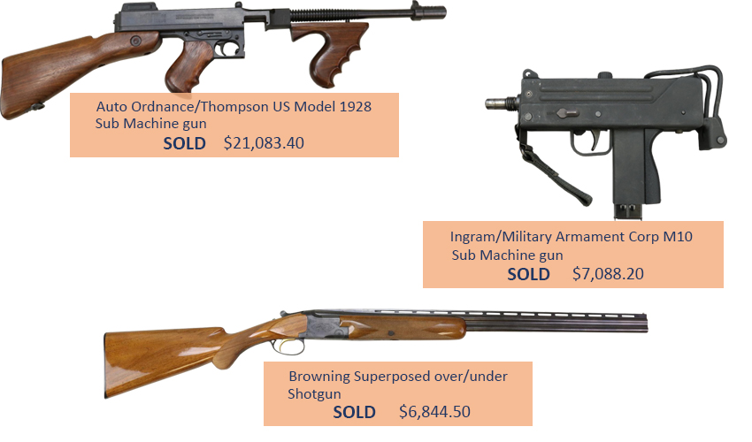 Alderfer Auction firearms highlights