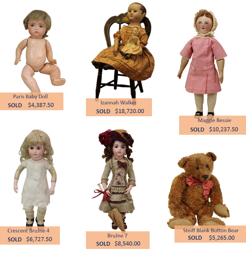 Alderfer Auction doll and toy highlights two