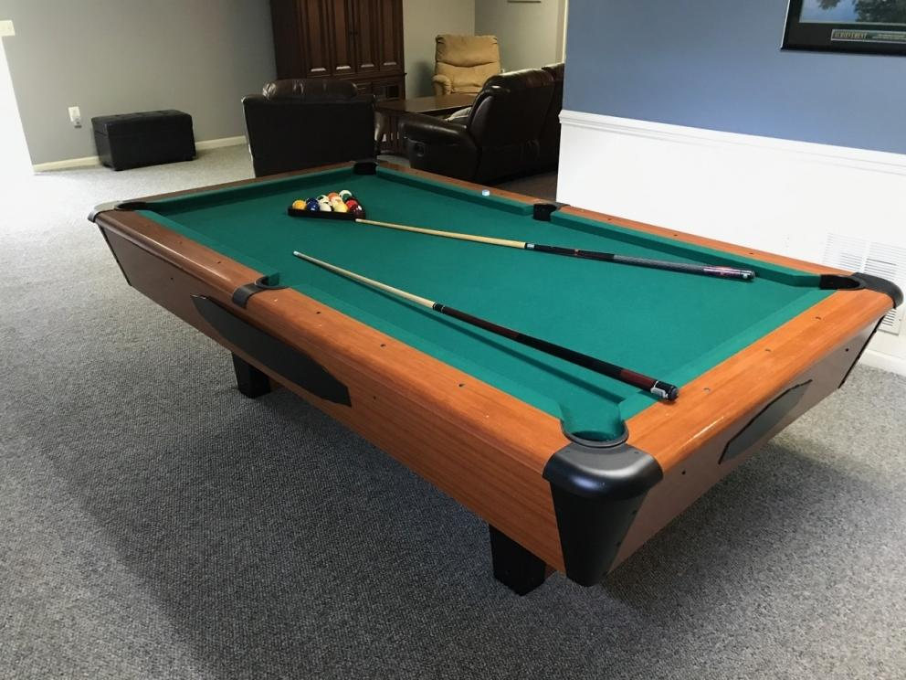 Pool Table Furniture For Man Cave Online Only Auction R Craig - Online pool table sales