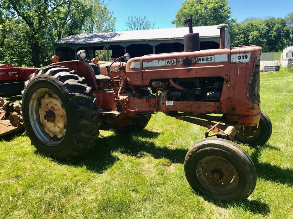Estate Farm Equipment, Tools, Advertising at Auction   R