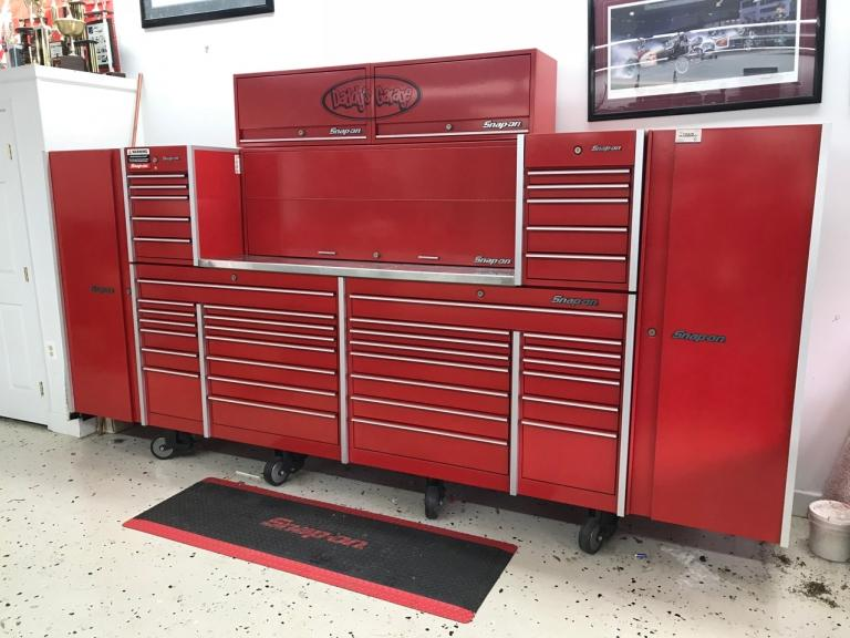 Snap On Five-Box Tool Cabinet