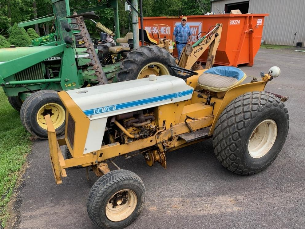 Tractors, Lawn Mowers, Warehouse Racks, Power Equipment, Lumber