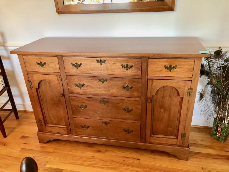 E.A. Clore Furniture Cherry Sideboard  - 288