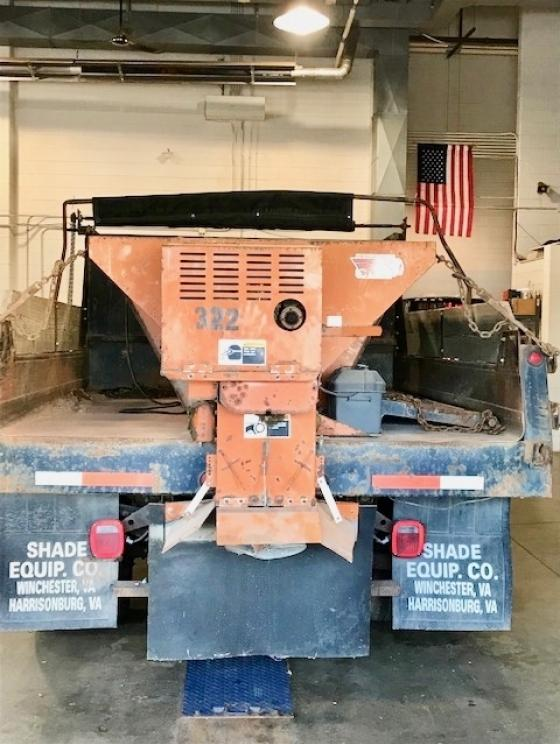 Comes With Gas Powered Spreader Mounted To Dump - 4