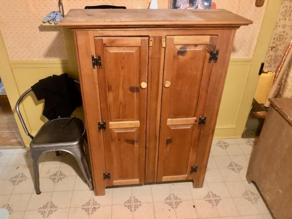 Nice wooden cabinet