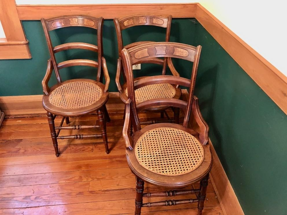 Beautiful wooden chairs