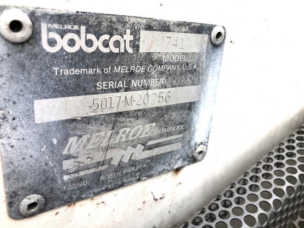 741 Bobcat skid steer