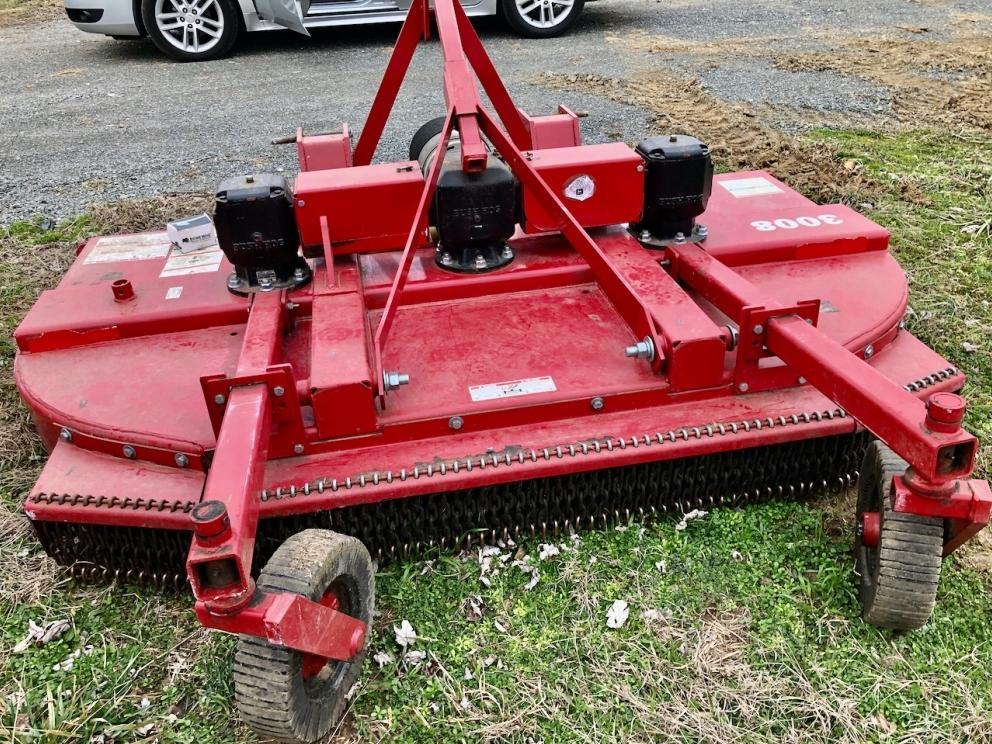 Bush Hog 3008-2 mower, 8ft, twin rotor