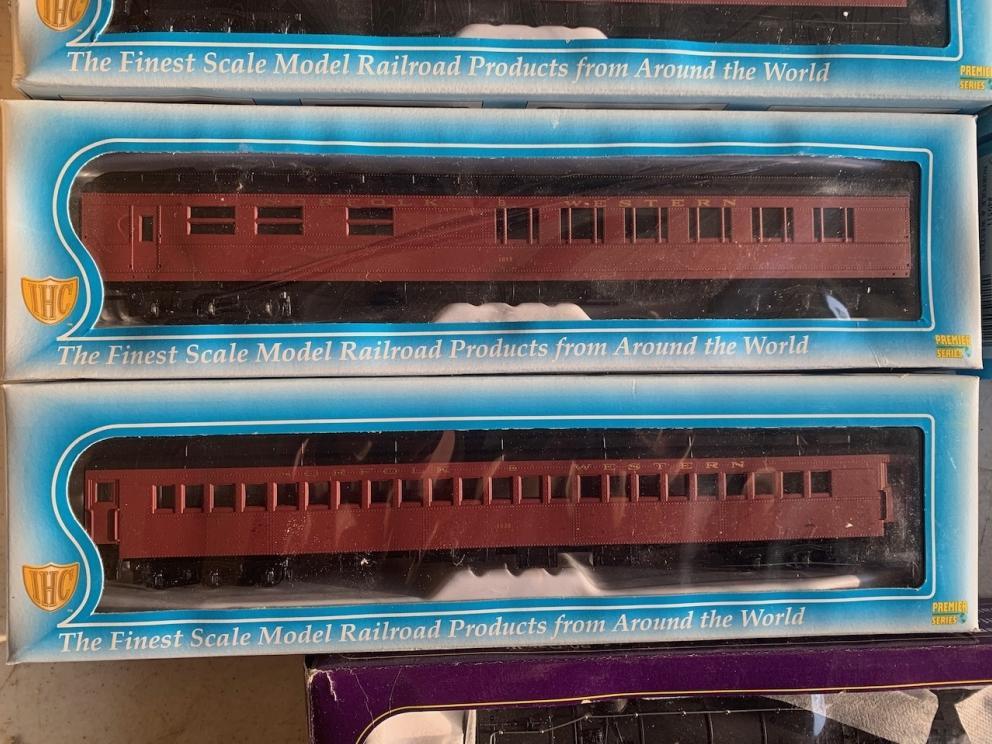 IHC, Norfolk and Western passenger cars