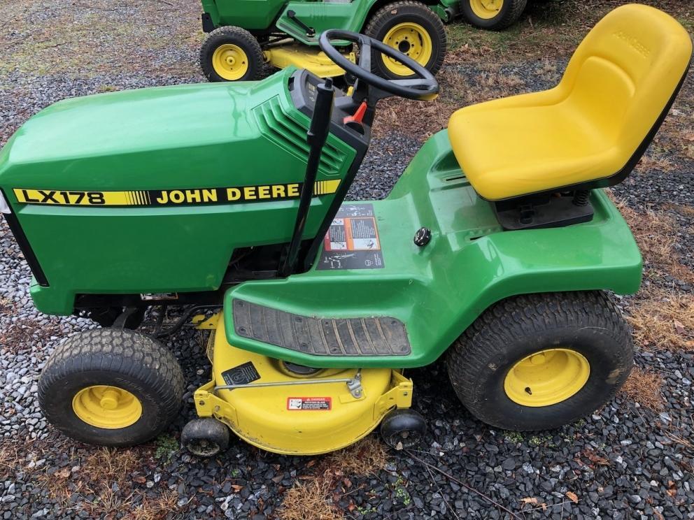 John Deere LX178 Tractor with Deck, 10 HP Kohler Engine