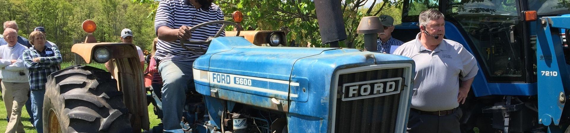 Slider tractor