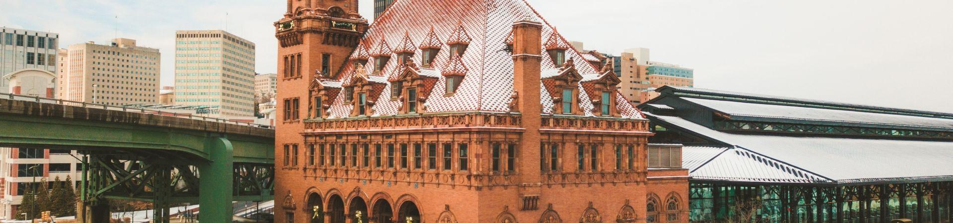 04 richmond virginia - shockoe bottom neighborhood - main street station - train travel events venue - historic landmark