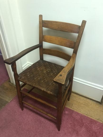 Chair turned