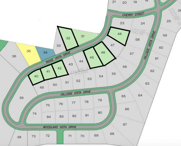 Pine vista estates plot map