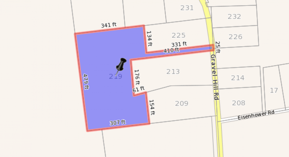 219 gravel hill plot 1