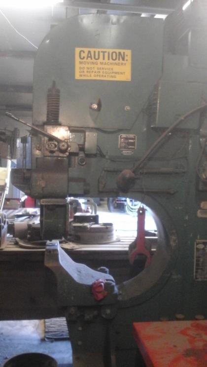 Buffalo iron worker