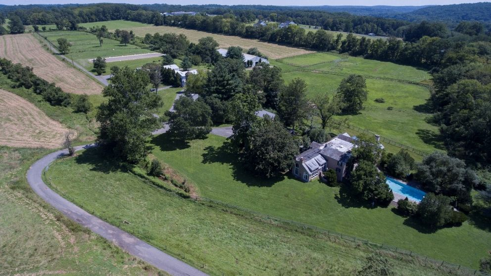 Tullamore farm aerial