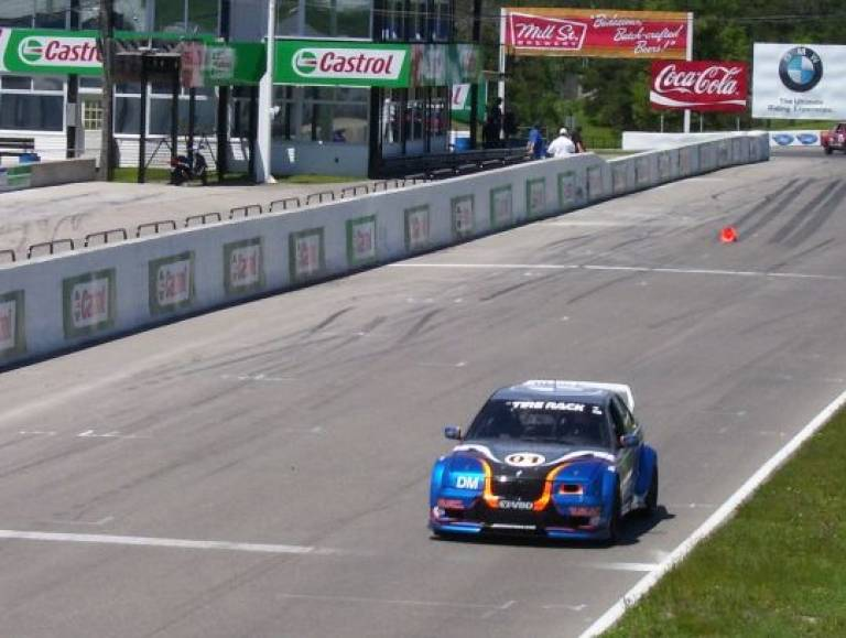 Mosport 3 Days / 3 D-Modified WINS!!! Crossing Finish Line...