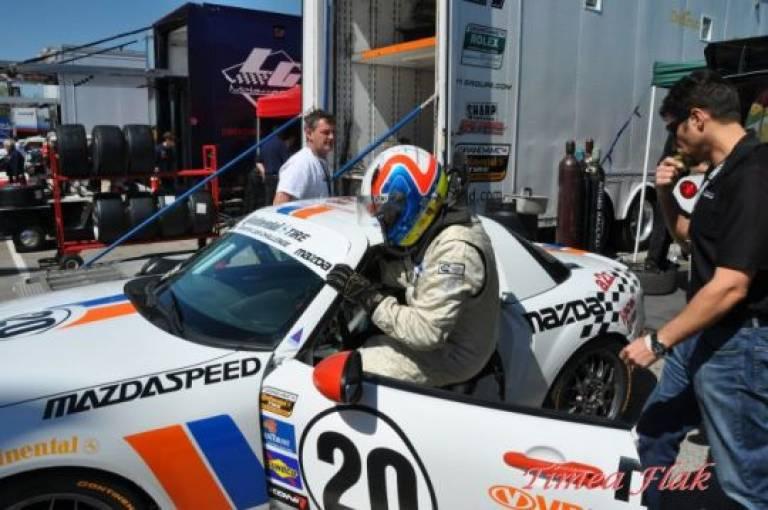 2010 - Greg Shaffer returns to Grand Am racing the #20 Mazda MX-5 under Matt Connolley Motorsports