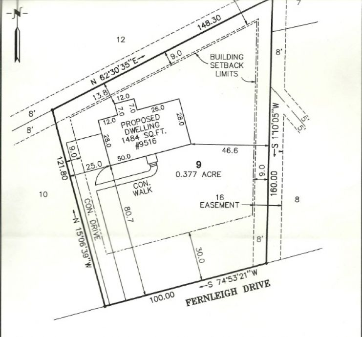 Image for 0.35 ± AC Residential Lot - Development Opportunity - 9516 Fernleigh Dr., Richmond, VA