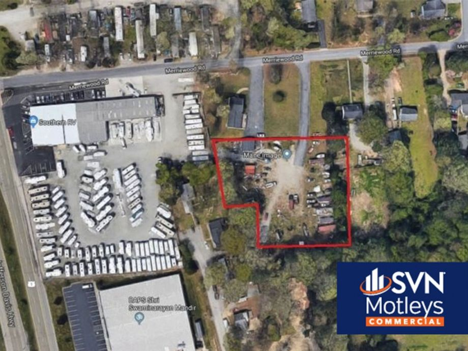 Image for 1 ± AC Fenced Storage Lot in Chesterfield County - 2549-2555 Merriewood Rd., Richmond, VA