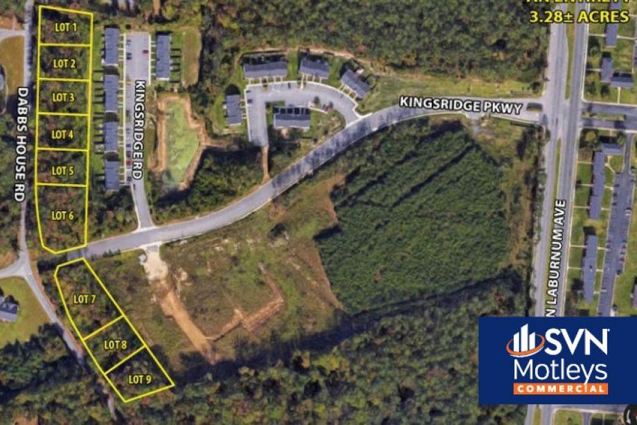 Image for 9 Lot Residential Development In Kingsridge Subdivision - Dabbs House Rd. & E. Richmond Rd., Henrico