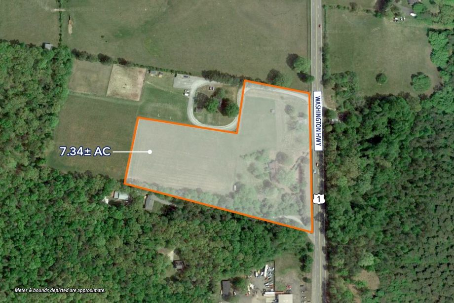 Image for FOR SALE | 7.34 AC in Hanover County - 16297 Washington Hwy, Doswell, VA