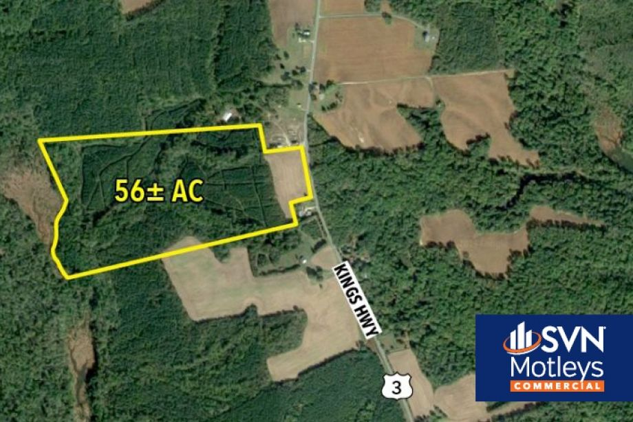 Image for FOR SALE | 56 Acres of Land zoned Industrial M-1 and  agricultural A-1 near Montross, VA