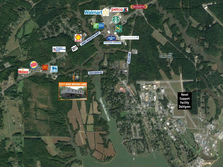 Image for Office for Sale or Lease | 5217 Kings Wood Lane, King George, VA 22485