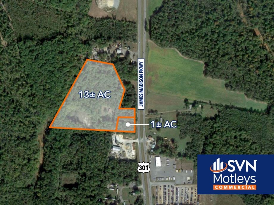 Image for FOR SALE | 14± AC of Commercial Land zoned C-2 and industrial  | King George, VA 22485