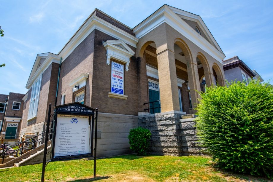 Image for FOR SALE | Redevelopment  Opportunity | Beautiful Historic Church in the Fan | Richmond, VA 23220