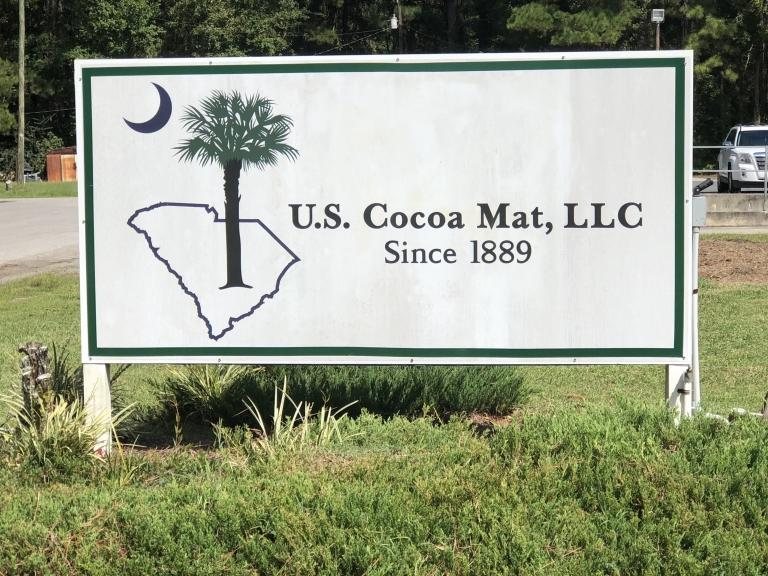 Us cocoa mat front