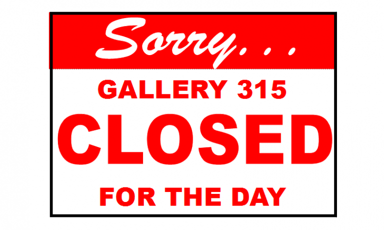 Sorry closed for the day-2