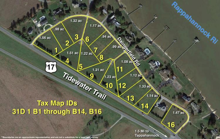 Daingerfield subdivision