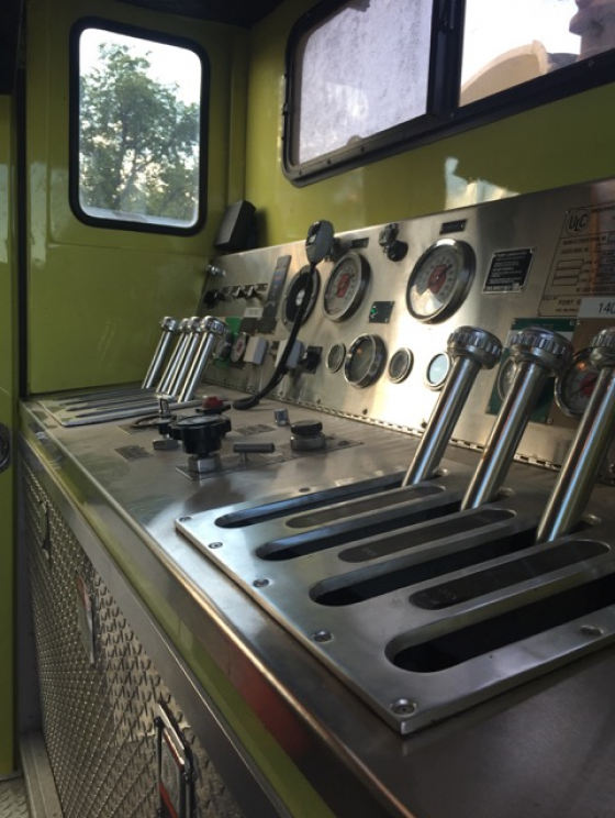 1993 Volvo Fire Truck