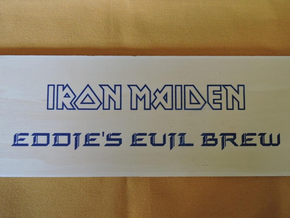 """IRON MAIDEN EDDIE""""S EVIL BREW"""