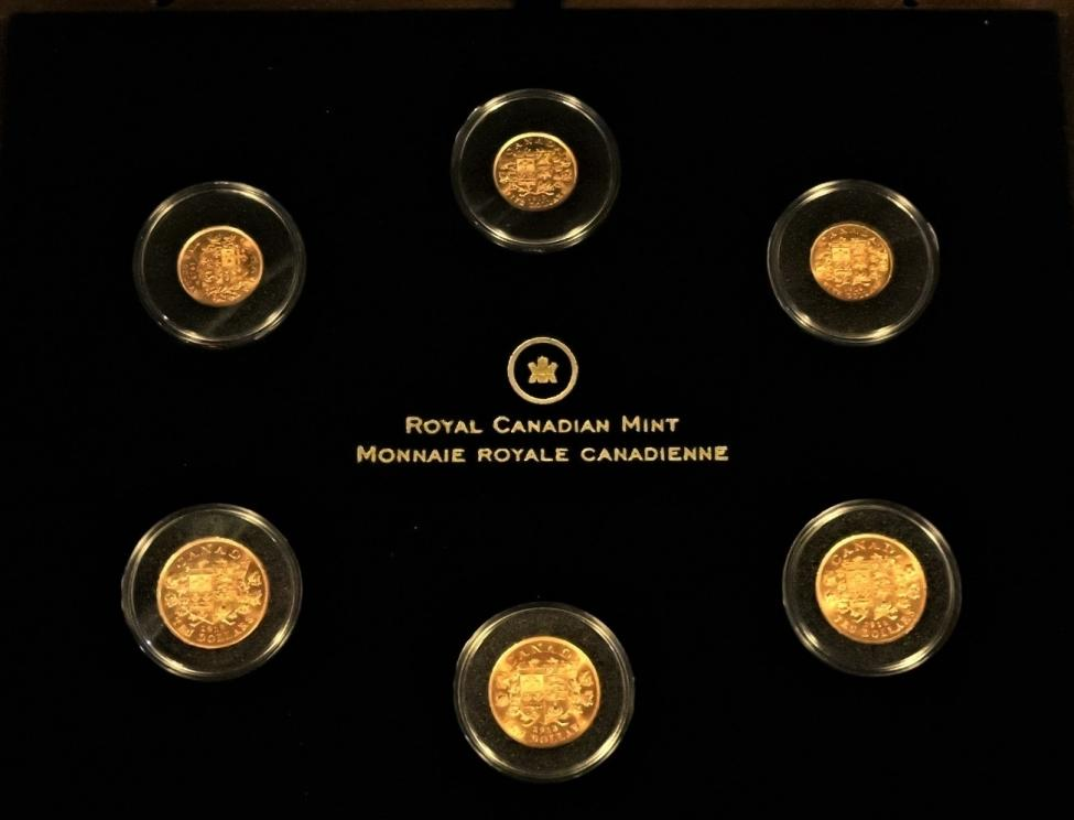 Rare Canadian Gold Hoard
